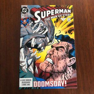 Superman: The Man of Steel #19 (Jan 1993, DC) Near
